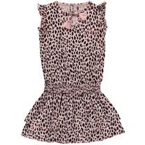Jurk Berit old pink leopard