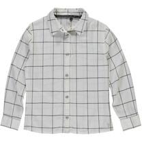 blouse Benedicte off white grid