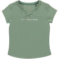 T-shirt Brooklyn leaf green