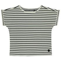 T-shirt Berna off white stripe