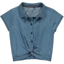 T-shirt Bijou blue chambray
