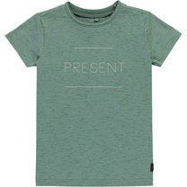 T-shirt Boudewijn moss green