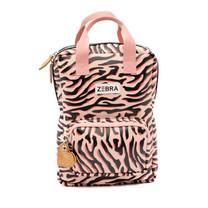 rugzak (S) zebra stripes pink