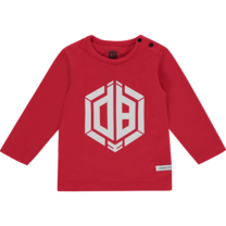 longsleeve Jaqua flame red - Daley Blind mini