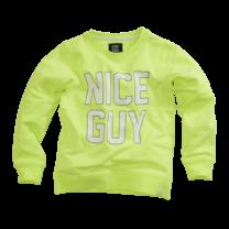 longsleeve Abe neon yellow