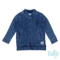 Sample vest blue denim - mini wanderder maar 74