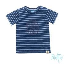 Sample T-shirt take a walk blue denim - mini wanderder maar 74
