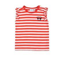 Feetje T-shirt streep rood - Funbird maat 74