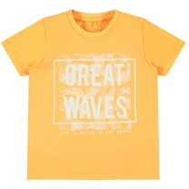 T-shirt Janal orange pop
