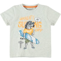 T-shirt Jama light grey melange