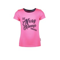 T-shirt with chest artwork and contrast binding lollypop