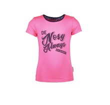 B.Nosy T-shirt with chest artwork and contrast binding lollypop