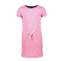 B.Nosy jurkje with dot aop and belt dots pink lollypop