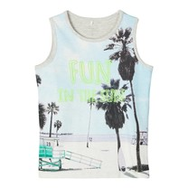 tanktop Jabeach light grey melange