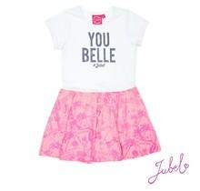 Jubel jurk you belle wit - nos