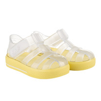 waterschoenen star brillo transparant amarillo