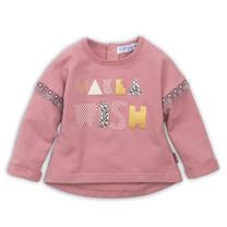 meisjes trui dark old pink
