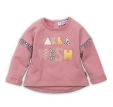 Dirkje meisjes trui dark old pink