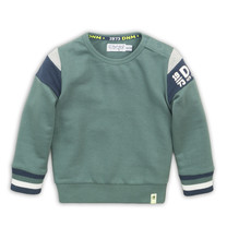 jongens trui dusty green