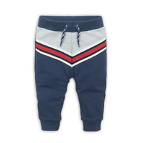 jongens broek grey melee + red + navy