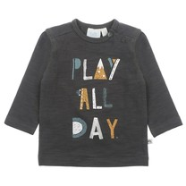 jongens longsleeve play all day antraciet - Cars
