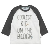 jongens longsleeve coolest kid offwhite - Cars