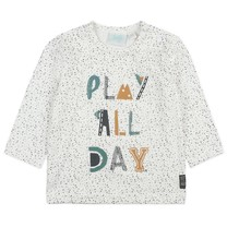 jongens longsleeve play all day offwhite - Cars