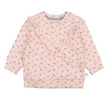 Feetje meisjes trui roze - Love Made Me