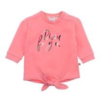 meisjes trui bisou roze - Mon Petit