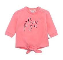 Feetje meisjes trui bisou roze - Mon Petit