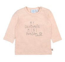 Feetje meisjes longsleeve my favourite l.roze - Little and Loved