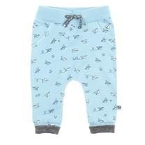 jongens broek aop blauw - Flying By