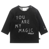 longsleeve my magic zwart - Hello World