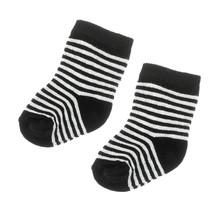 Feetje sokjes zwart - Hello World