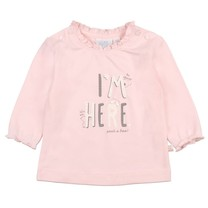 meisjes longsleeve I'm here roze - We Are Family Girls