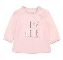 Feetje meisjes longsleeve I'm here roze - We Are Family Girls