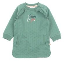Feetje jurk bisou groen - Mon Petit