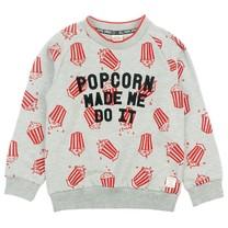 trui popcorn grijs melange - Popcorn Power