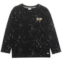 longsleeve glow in the dark zwart - Spacelab