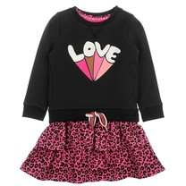 jurk love zwart - Animal Attitude