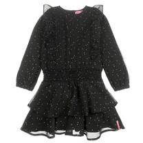 jurk voile zwart - Animal Attitude