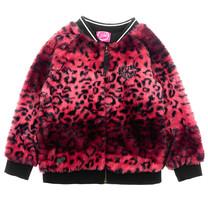 vest fake fur roze - Animal Attitude