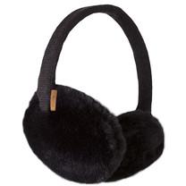 meisjes oorwarmers Plush black one size