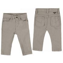 jongens broek 5 pocket slim fit basic walnut