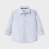 jongens blouse letters