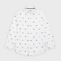 jongens blouse white