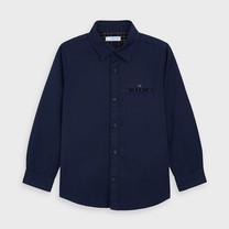 jongens blouse navy