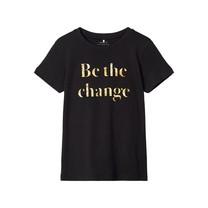 meisjes T-shirt Kaiza black