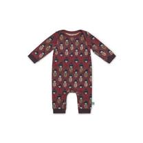 meisjes pyjama faded red + aop