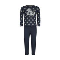 jongens pyjama set navy + aop